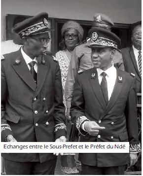 bassamba echange sous-prefet et prefet